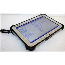 Panasonic Toughpad FZ-G1 Core i5 3437u 1.9GHz 8GB 128GB Tablet PC GPS W8 4K HRS!