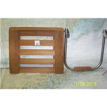 Boaters' Resale Shop of TX 1810 0422.75 SEATEAK 60918 SWIM PLATFORM & BRACKET