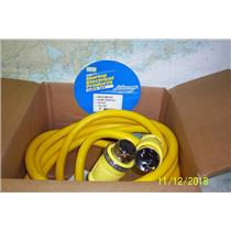 Boaters' Resale Shop of TX 1810 1752.02 HUBBELL HBL61CM42LED 50A SHOREPOWER CORD