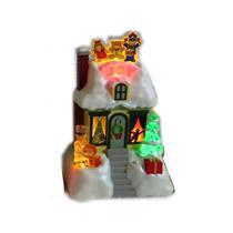 Hallmark Magic Tabletop Decoration 2009 Joy - Caroling Cottages - #XLJ6026