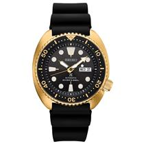 Seiko Watch Mens SRPC44 Gold Tone 200M Divers. Batteryless Automatic/Mechanical.