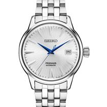 "Seiko Watch Mens SRPB77 Classic Mechanical/Automatic ""2.0"".Batteryless,All Steel"