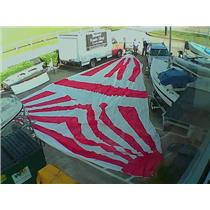 Asymmetrical Spinnaker w 53-6 Luff from Boaters' Resale Shop of TX 1808 0721.92