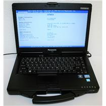 "Panasonic ToughBook 14"" CF-53 MK1 Core i5 2520M 2.5Ghz 4GB Notebook Laptop"