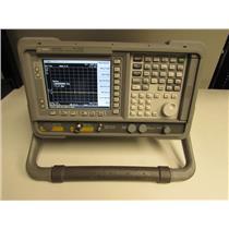 Agilent E4407B Spectrum Analyzer, 9 kHz to 26.5 GHz Opt 1DS, 1DR, 1D5