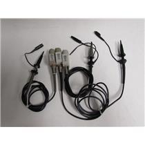 Tektronix P5050 Passive Probe; 500 MHZ, 10X, TDS5000 SERIES OSCILLOSCOPES, Qty 3