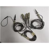 Teketronix P6105A 10X 100 MHz 13pf 2 Meter Oscilloscope Probe, qty 3