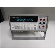 Agilent 34401A Digital Multimeter, 6.5 digit (GPIB, RS232)
