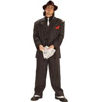 Chicago Gangster Full Figured Plus Size Adult Costume