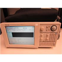 Tektronix TLA715 Logic Analyzer Portable Mainframe, TLA7AA4 w/ 4 logic cables #1