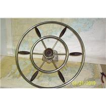 "Boaters' Resale Shop of TX 1901 4221.01 MORSE STEERING ASSEMBLY WITH 23"" WHEEL"