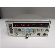 Agilent HP 438A dual channel power meter, opt: 002