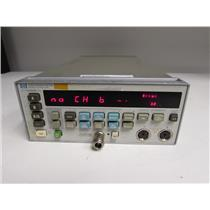 Agilent HP 438A dual channel power meter, opt: none