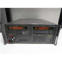 Datron 4000A DC Calibrator w/ Opt 80, 90