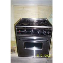 Boaters' Resale Shop of TX 1901 2724.01 SEAWARD 3 BURNER PROPANE STOVE & OVEN