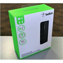 New BELKIN SuperSpeed USB 3.0 Hub 4-Port External F4U058TT F4U058