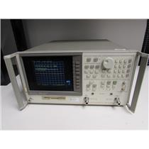 HP Agilent 8753D Network Analyzer 30kHz-3GHz w/ opt. 075, Calibrated