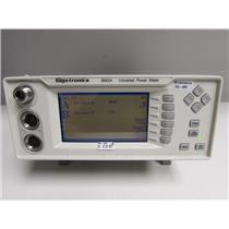 Gigatronics 8652A Dual Input Universal Power Meter opt 12