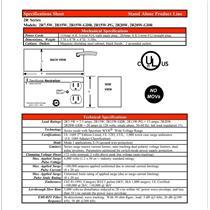 Zero Surge Neutralizer 2R7.5W Transient Adaptive Surge Filter 120VAC 50/60Hz
