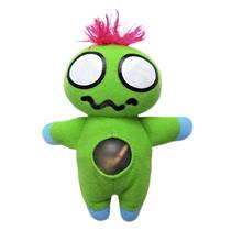 Green Meenie Squeezy Stuffed Monster Doll