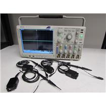Tektronix DPO4104B Digital Phosphor Oscilloscope, 1GHz 5GS/s w/ 4 TPP1000 probes