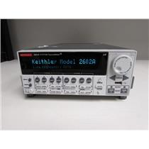 Keithley 2602A Dual-channel System SourceMeter (3A DC, 10A Pulse)