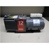 Edwards E2M12 Two Stage Rotary Vane Vacuum Pump