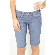 29 x 11 Authentic Yanuk Jeans Denim Cut Off Bermuda Denim Short Stretch WEZ22073