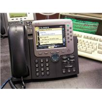 Cisco CP-7971G-GE 8 Button (Line) VoIP Color LCD Touch Screen Gigabit Phone