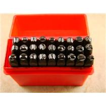 "1/8""  3MM Letter Punch Stamp Set  Metal-Steel-Hand A-Z -Trailer-serial-Bars"