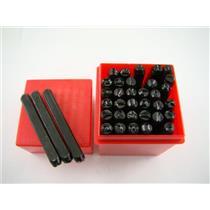 """3/16""""  5MM Letter & Number Punch Stamp Set  Metal-Steel-Serial Codes- Bike"""
