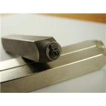 """Diamond Ring"" 1/4""-6mm-Large Stamp-Metal-Hardened Steel-Gold&Silver Bars Copper"