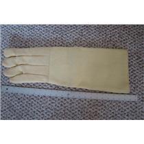"Professional Kevlar Heat Glove-Furnace Kiln Fire 22"" Left Hand Gold Melt Safety"