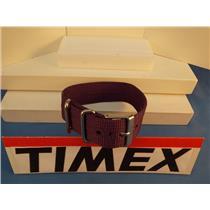 Timex Watch Band 1 Pc Loop Thru Purple 20mm  Strap Steel Hardware