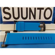 Suunto Watch Band Core blue Strap Black buckle / Hardware w/ Attaching T-Bars