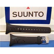 Suunto Watch Band M5. Ladies  Black Resin w/Attach Pin