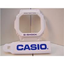 Casio Watch Parts Bezel / Shell G-5600 A-7,GW-M5600 A-7 white G-Shock Purple Let