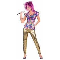 80's Pop Video Star 1980 Ladies Adult Costume