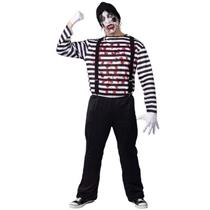Maniacal Mime Adult Costume