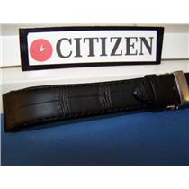 Citizen Watch Band AT1010 -05E Calibre 5700 black Leather w/Push Button Deployment