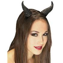 Black Beast Horns Demon Devil Costume Accessory