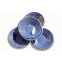 "Lot of 10-14"" Blue Gold Pans + Bottle Snuffer - Mining-Panning Kit-Prospecting"