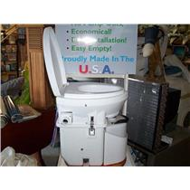 Boaters' Resale Shop of Tx NATURE'S HEAD SELF-CONTAINED COMPOSTING TOILET