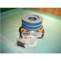 MASKA 2B42, DOUBLE BELT PULLEY FOR USE WITH QD (SH) BUSHING