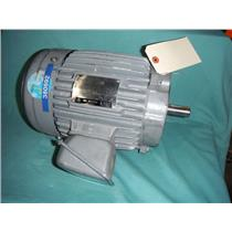 GENERAL ELECTRIC 5KE145FC205B, 2 HP AC MOTOR, 230/460V, 1730RPM, 145TCY FRAME