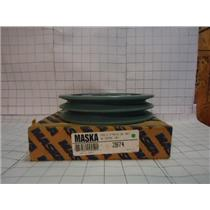 "MASKA 2B74 2-3/4"" DOUBLE BELT PULLY"