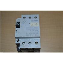 1 USED SIEMENS 3VU1300-1NK00 MOTOR CIRCUIT PROTECTOR