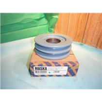 MASKA 2B50, DOUBLE BELT SHEAVE PULLEY FOR USE WITH QD (SDS) BUSHING