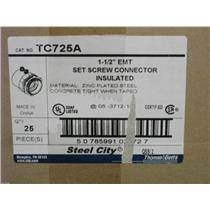 "1-1/2""EMT Set Screw Connector Insulated TC725A"