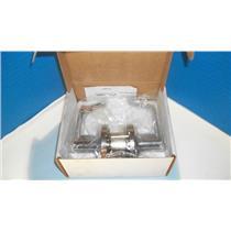 """Hager 3540 2 3/4"""" US26D GRADE 2 Satin Chromium Plated door handle's w/ key's"""